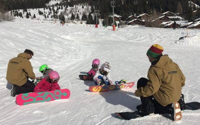 Kids love Snowboarding