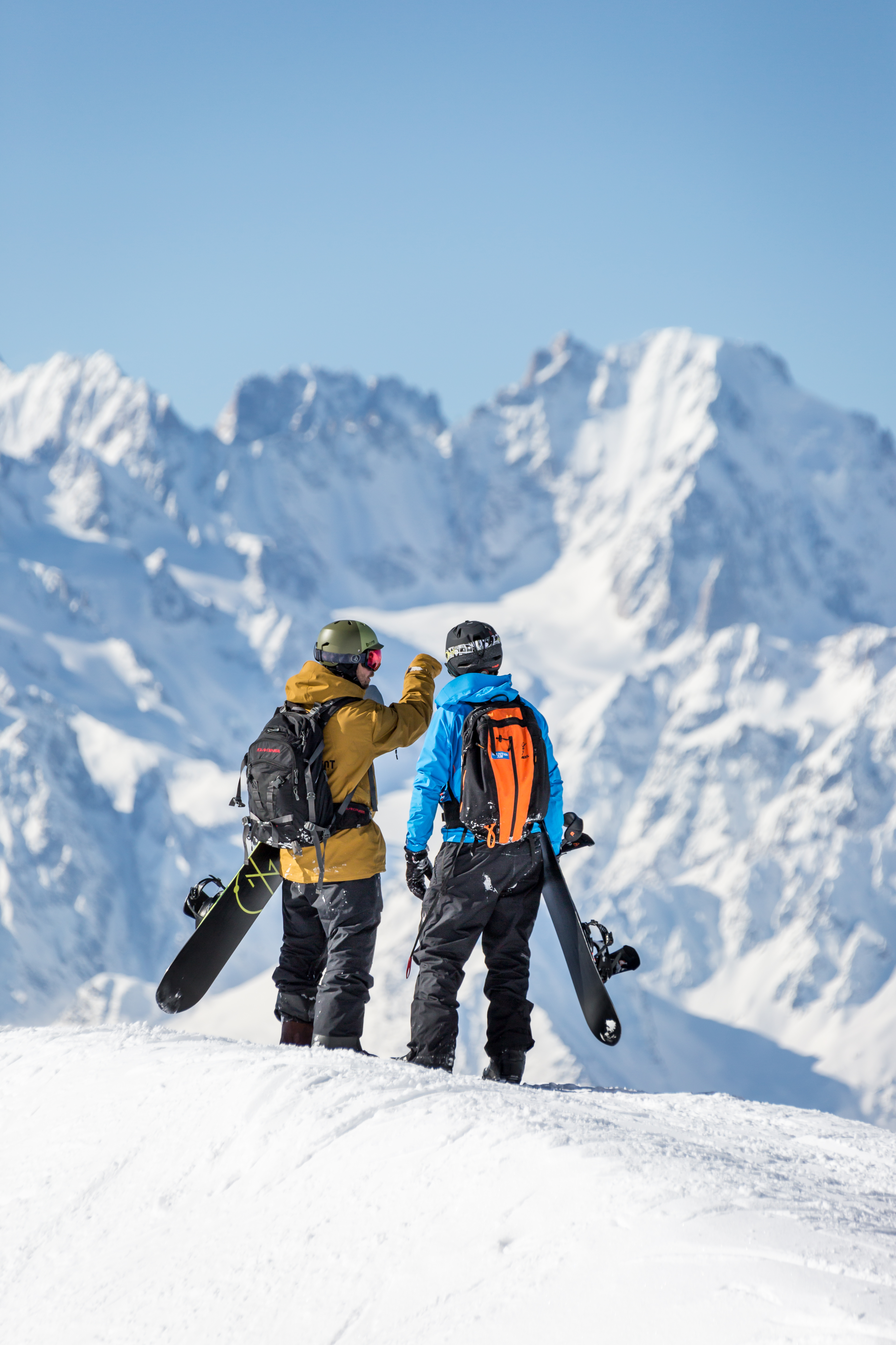 Independent Snowboarding Privat Freeride Classes
