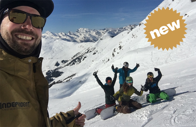 Free Snowboard Clinic Verbier